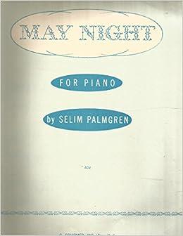 piano PALMGREN Night in May