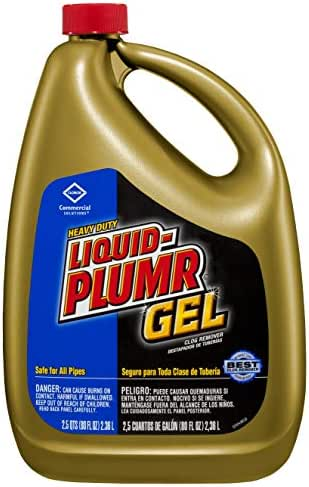 Drain Cleaners: Liquid-Plumr Clog Remover Gel