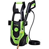 PowRyte Elite 3500 PSI 1.80 GPM Electric Pressure Washer, Power Wash Machine with 5 Quick-Connect Spray Tips, Electric Power Washer