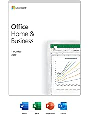 Microsoft Microsoft Office Home and Business 2019 | 1 person, Windows 10 PC/Mac Key Card, French
