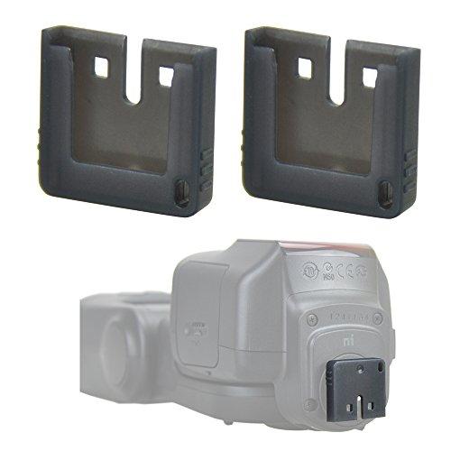 2Pcs MI Hot Shoe Connector Protector Cover Cap for Sony Multi Interface Shoe External Flash/Video Light HVL-F32M HVL-F60M HVL-F20M Shoe Adapter ADP-MAA Wireless Microphone ECM-GZ1M ECM-W1M ECM-XYST1M