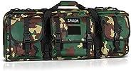 Savior Equipment American Classic Tactical Double Short Barrel Rifle Gun Case Firearm Bag - Suitable for Subgu