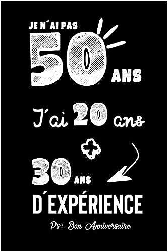 Idée Anniversaire 50 Ans Homme Joyeux Anniversaire Humour: CarDe Notes, Idée Cadeau Pour