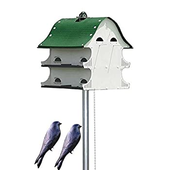 BestNest S&K American Barn Complete Purple Martin House Package