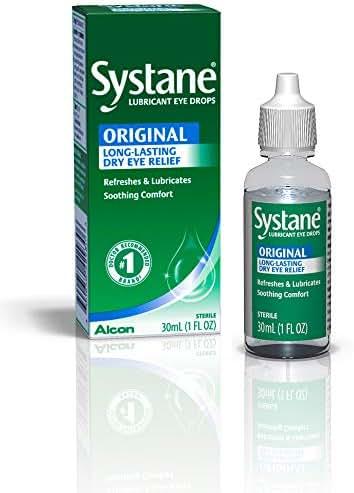 Systane Long Lasting Lubricant Eye Drops, 1 Fl. Oz (Pack of 1)
