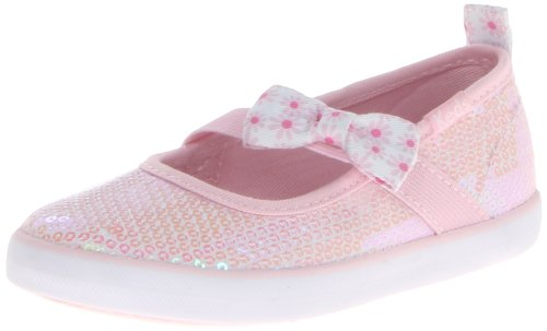 Keds Champion K MJ Sneaker (Toddler/Little Kid),Light Pink,7 M US (Keds Canvas Mary Janes)