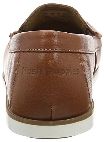 Hush Puppies Heren Bob Portland Slip-on Loafer Bruin Leer