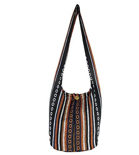 - Aztec Yoga Bag Shoulder Crossbody Sling Medium (Midnight Copper)