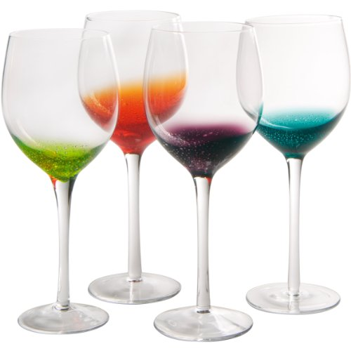 (Artland Fizzy Goblet, Multicolor, Set of)