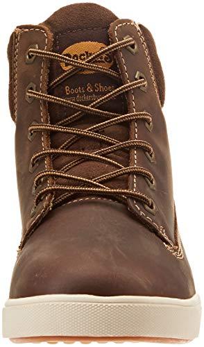 Women's Boots Gerli 35pr201 by Brown 320 Combat Dockers Cafe EOBqwn
