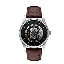 Bulova Caravelle New York  Men's 43A123 Analog Display Japanese Automatic Brown Watch