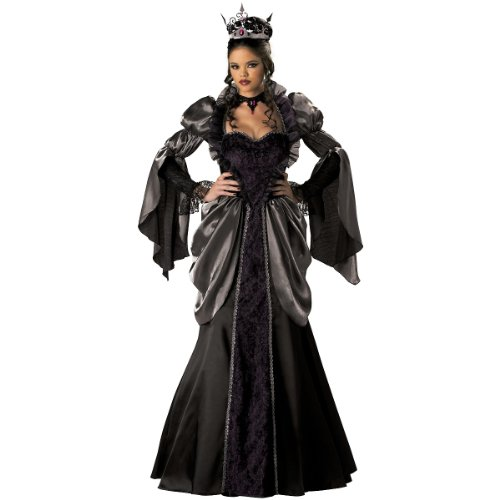 InCharacter Costumes Women's Wicked Queen Costume, Black, Large (Once Upon A Time Snow Queen Costume)