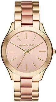 Relógio Michael Kors Slim Runway Dourado - Mk3493/5tn