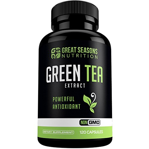 Green Tea Extract Supplement EGCG for Healthy Weight Loss, 1