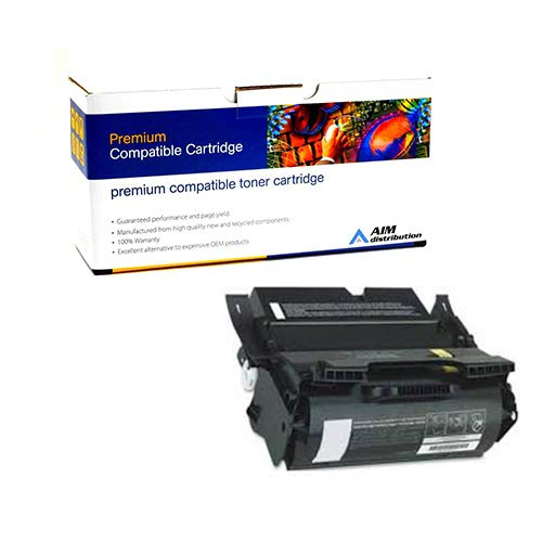(AIM Compatible Replacement for Olivetti 911845 Toner Cartridge (25000 Page Yield) - Compatible to Lexmark 12A5745 - Generic)