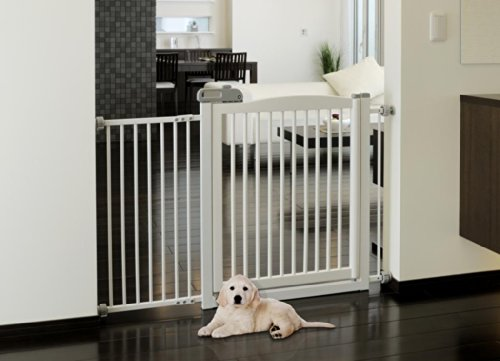 Richell Pet One Touch Gate Ii Wide White Baby Toddler