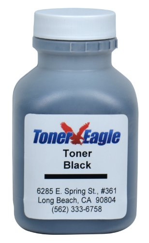 HP 1600 2600 2600dn 2600dtn 2600n Black Toner Refill Kit with Reset Chip. 90 grams. By Toner Eagle