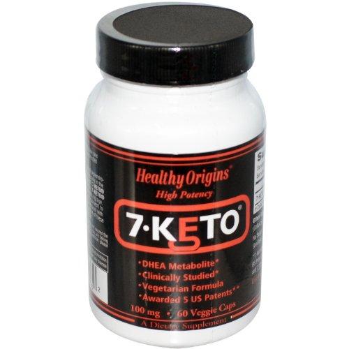 HEALTHY ORIGINS 7.KETO,DHEA METABOLITE, 60 VCAP