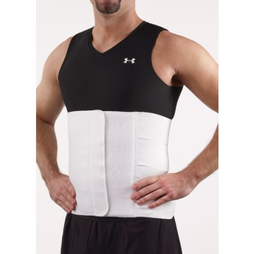 - Corflex Panel Elastic Plus Size Bariatric Abdominal Binder-3XL-12' - White