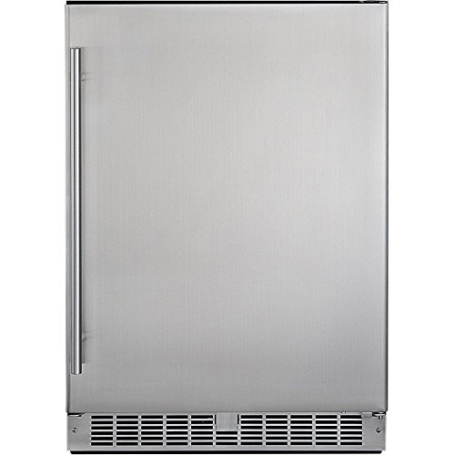 Silhouette Professional Energy Star All Refrigerator, Stainless Steel
