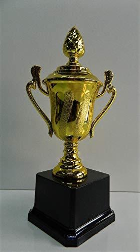 -Trofeo - Estatuilla de premio - 21,5 cm - De plástico - Estilo Óscar de cine: Amazon.es: Deportes y aire libre