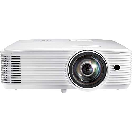 Optoma W318ST 3D Ready Short Throw DLP Projector - 720p - HDTV - 16:10 - Rear, Ceiling, Front - 203 W - 6000 Hour Normal Mode - 10000 Hour Economy Mode - 1280 x 800 - WXGA - 20,000:1-3500 lm - HDMI