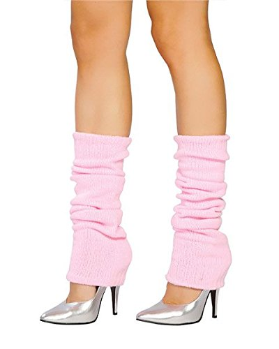 Roma Costume Leg Warmer, Baby Pink, One Size ()