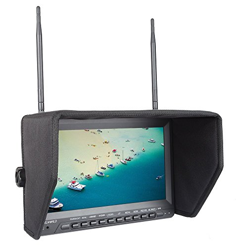 Feelworld PVR1032 10.1 Inch 1024x600 IPS FPV Monitor with DVR Function (Dvr Monitor)
