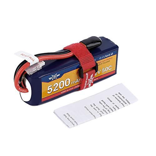 Yao ACEHE 15.2V 5200mAh 50C 4S1P 79.04Wh XT60 Plug Lipo Batteria ad Alta Tensione