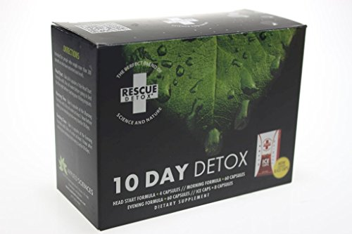 Rescue Detox 10 DAY Detox KIT with Free Im Baked Bro and Doob Tubes Sticker