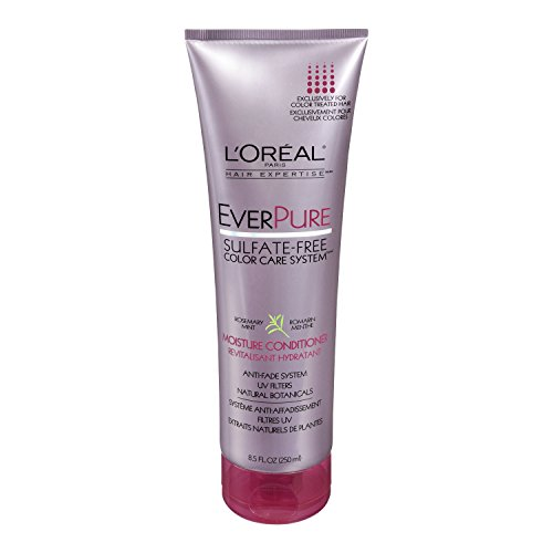 L'Oreal Paris EverPure Sulfate-Free Color Care System Moisture Conditioner, 8.5 Fluid Ounce (L Oreal Conditioner compare prices)