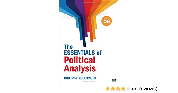 The Essentials Of Political Analysis Pdf