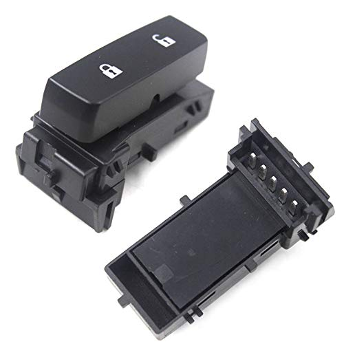 Nathan-Ng - Drivers Front Power Door Lock Switch Left Replacement for 07-14 Chevy Silverado GMC Sierra Pickup Truck 15804093