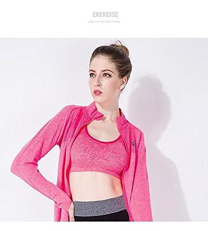 unory (TM) nuevo gimnasio mujeres Sudaderas entrenamiento Fitness ropa deportiva Sudaderas para mujer Tees