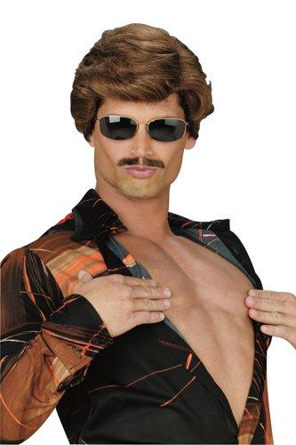 Halloween Express Wigs (Leading Man Brown Wig)