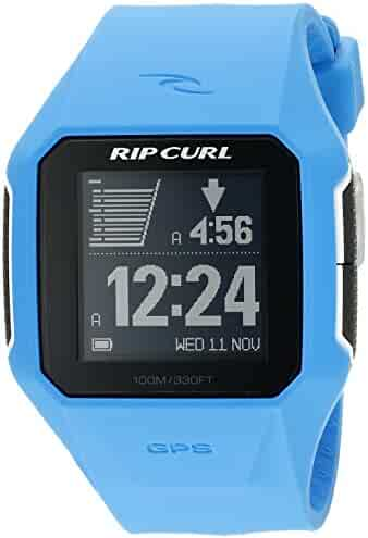 Rip Curl Men's A1111-BLU SearchGPS Digital Blue Surf Watch
