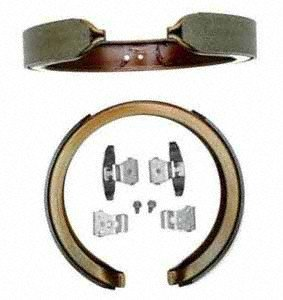 Raybestos 781PG Professional Grade Parking Brake Shoe Set - Drum in Hat