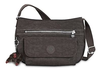 36017027dbe Image Unavailable. Image not available for. Colour  KIPLING SYRO EXPRESSO  BROWN CROSSBODY HANDBAG BAG, NEW ...