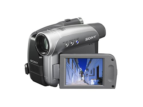 Sony DCR-HC28 MiniDV Handycam Camcorder with 20x Optical Zoom (Renewed)