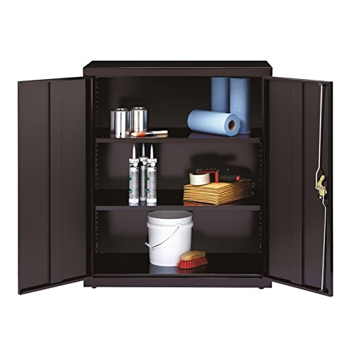 Hirsh Industries Iron Horse Storage Cabinet in Black