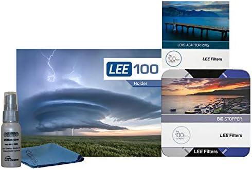 LEE Filters LEE100 72mm ビッグストッパーキット - LEE100ホルダー 100mmビッグストッパー 7