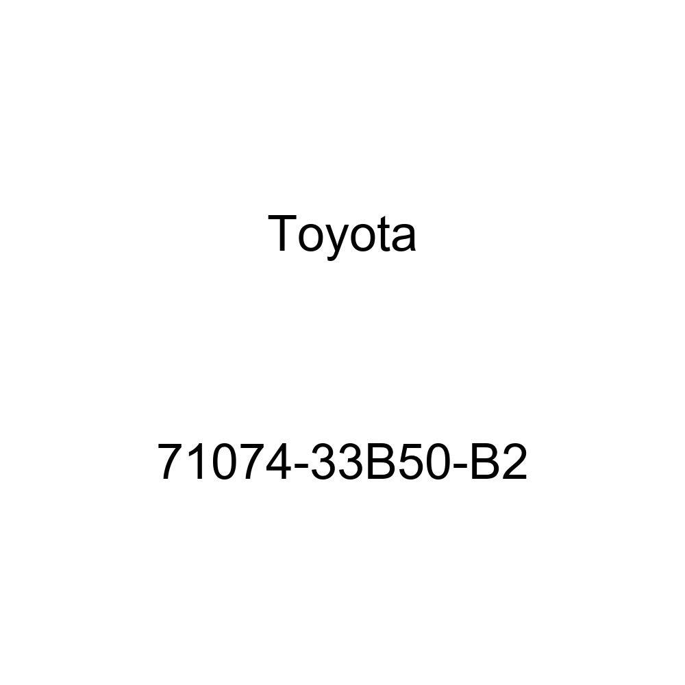 TOYOTA Genuine 71074-33B50-B2 Seat Back Cover