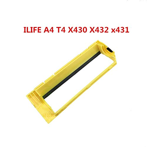 HBK Original Main Roller Middle Brush Cover for ILIFE A4s A40 X430 X432 ILIFE A4 Robot Vacuum Cleaner Parts Brush Cover Replacement