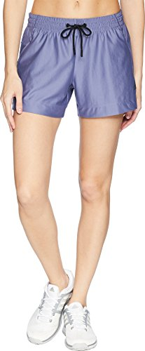 adidas Women's ID Mesh Shorts Raw Indigo Medium - Shorts Adidas Indigo