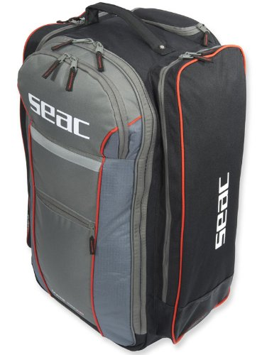 Seac Sub Trolley Mate 550 HD Scuba Roller Backpack Dive