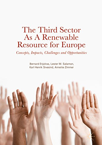 The Third Sector as a Renewable Resource for Europe: Concepts, Impacts, Challenges and Opportunities