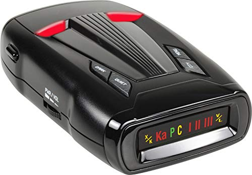 Whistler CR68 High Performance Laser Radar Detector: 360 Degree Protection and Tone Alerts (Best Radar Detector Under 50)