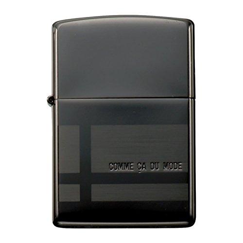 zippo ジッポーライター オイルライター コムサデモード COMME CA DU MODE 01-46149 ブラックサテーナ B01IPSM4M0