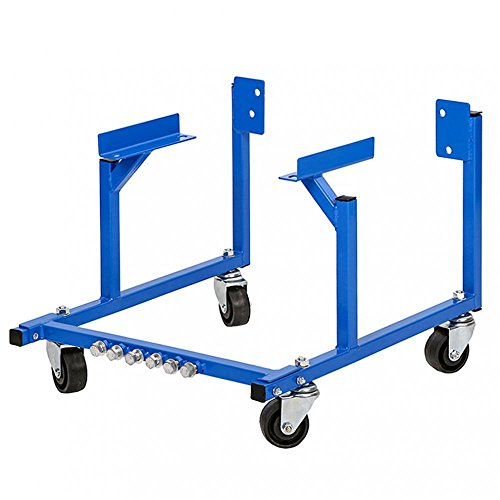 Stand Cradle - Auto Engine Cradle Stand 1000 lbs Ford Dolly Mover Repair Rebuild w/Wheels