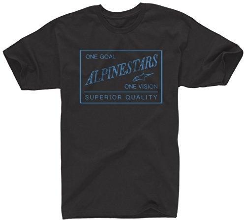 ALPINESTARS Men's Superior Quality T-Shirt, Black, Medium